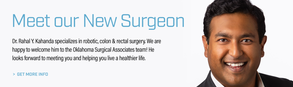 Meet Our New Surgeon